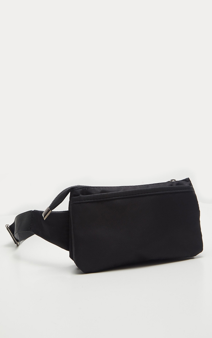 Black Thin Fanny Pack 2