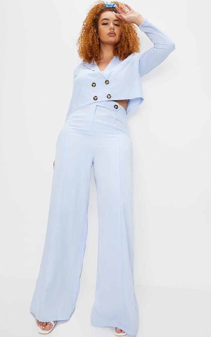 PLT Plus - Pantalon de tailleur bleu ciel 1