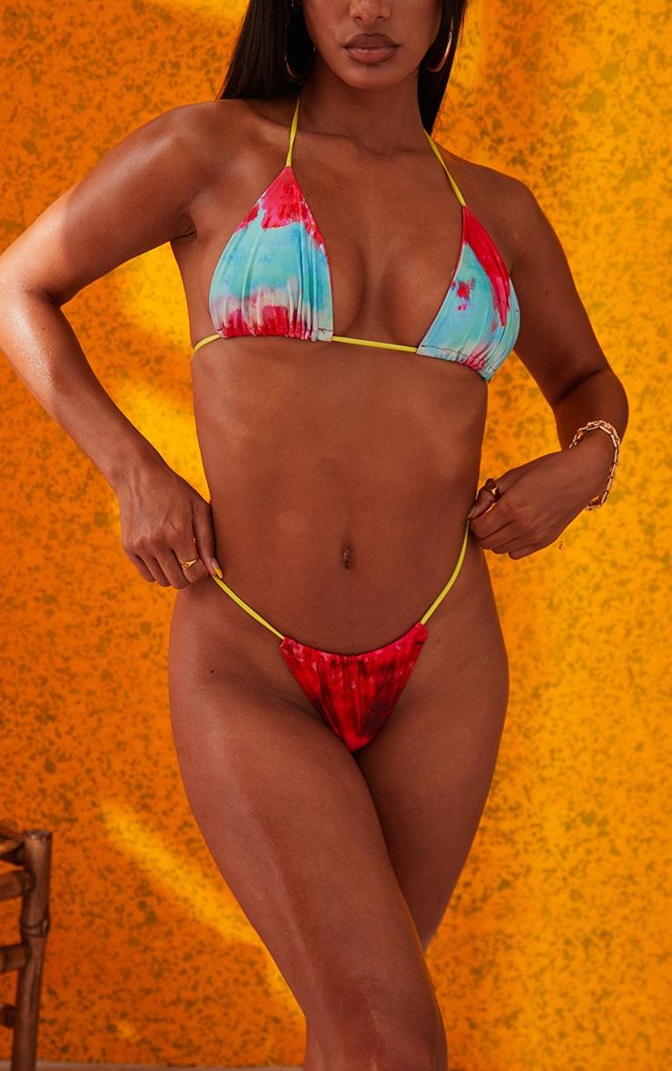 Multi Printed Bikini Bottoms 4