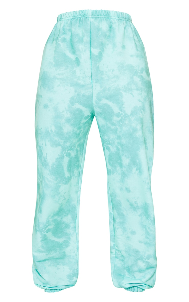 Tall Sage Green Tie Dye Basic Jogger 5