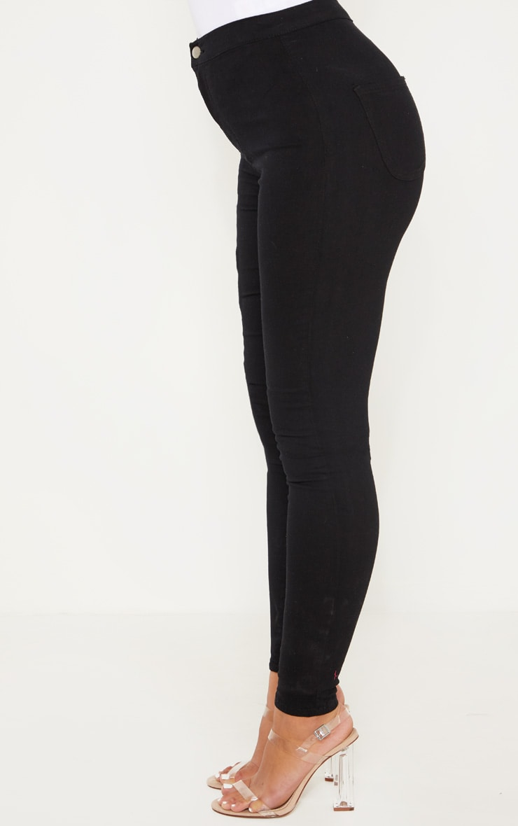 Black Denim Jegging 4