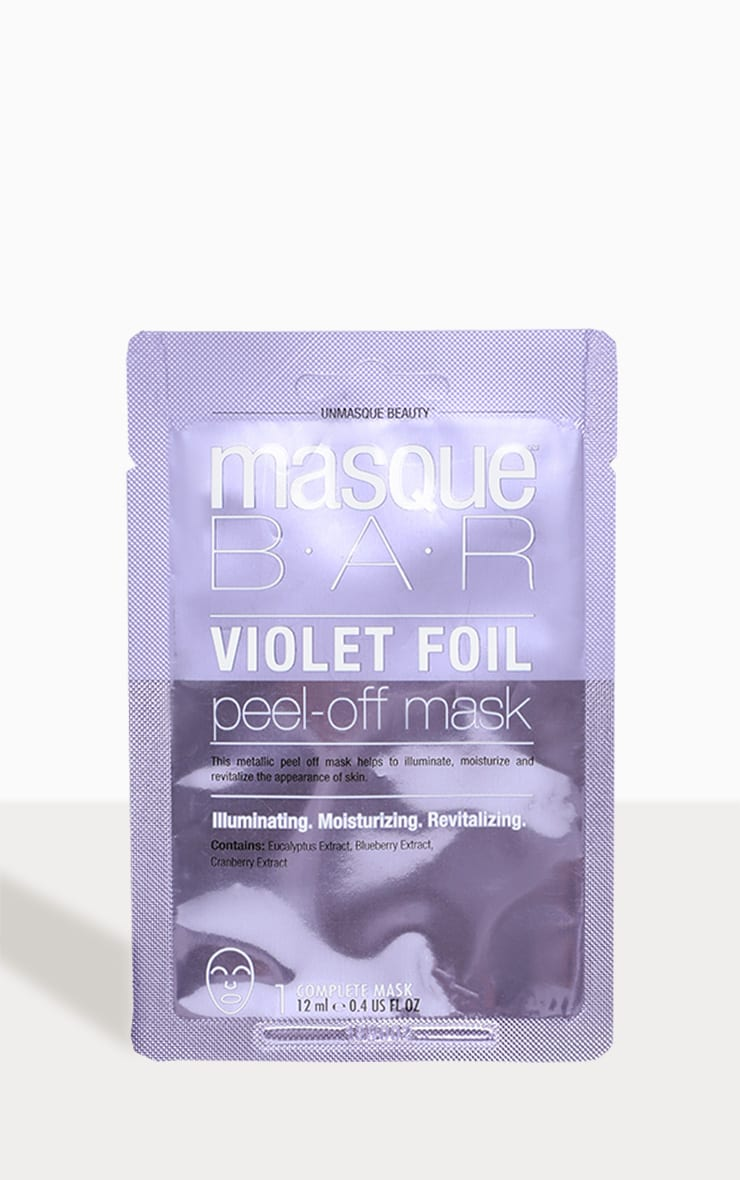 MasqueBar Violet Peel Off Mask 2