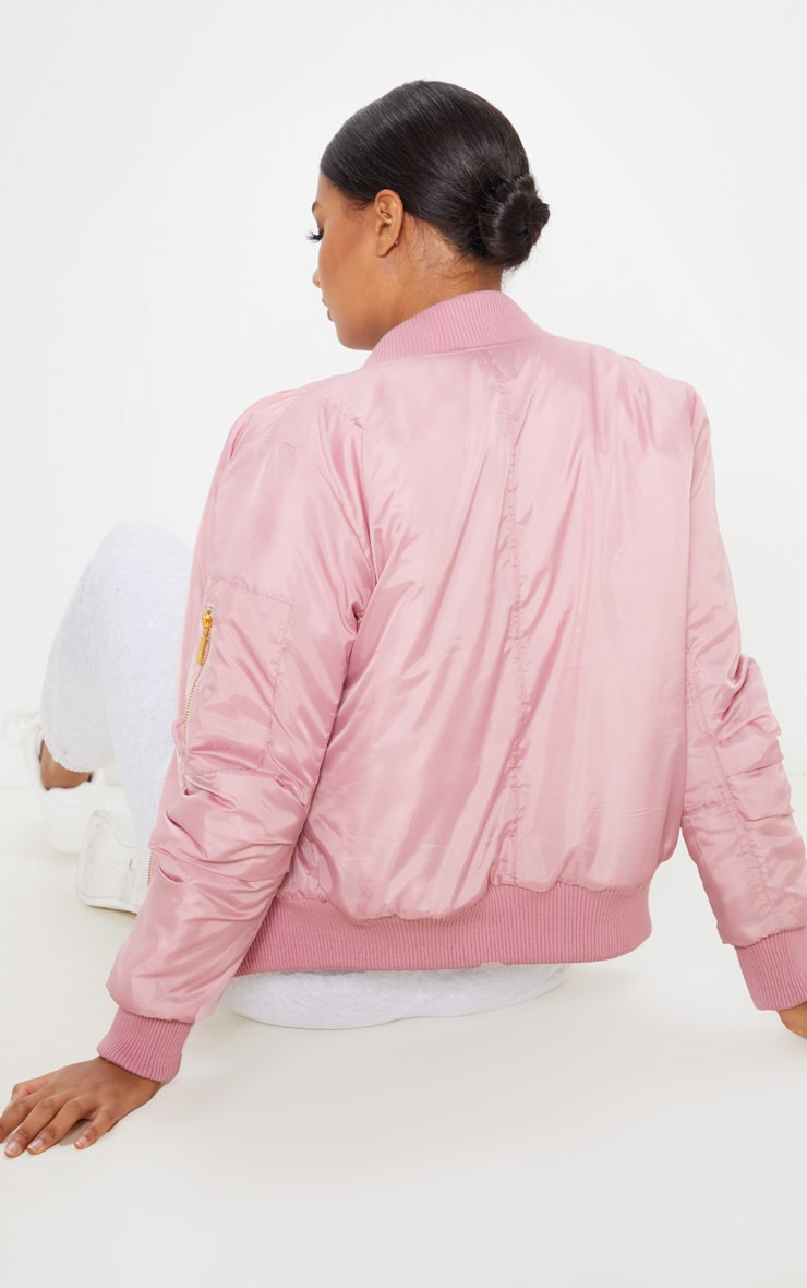 Pink Bomber Jacket  2