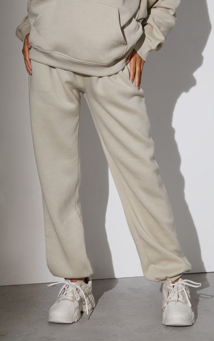 RENEW Maternity Beige Ultimate High Rise Joggers 2