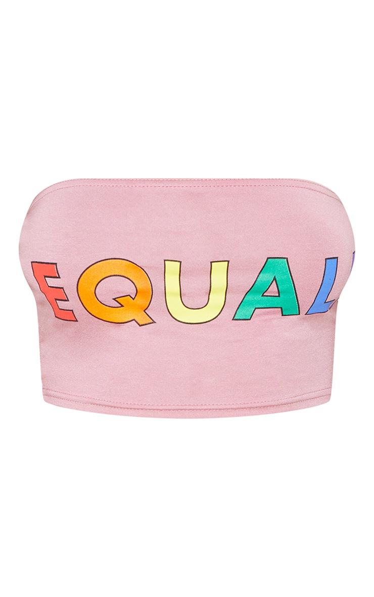 Pink Equal Bandeau 4