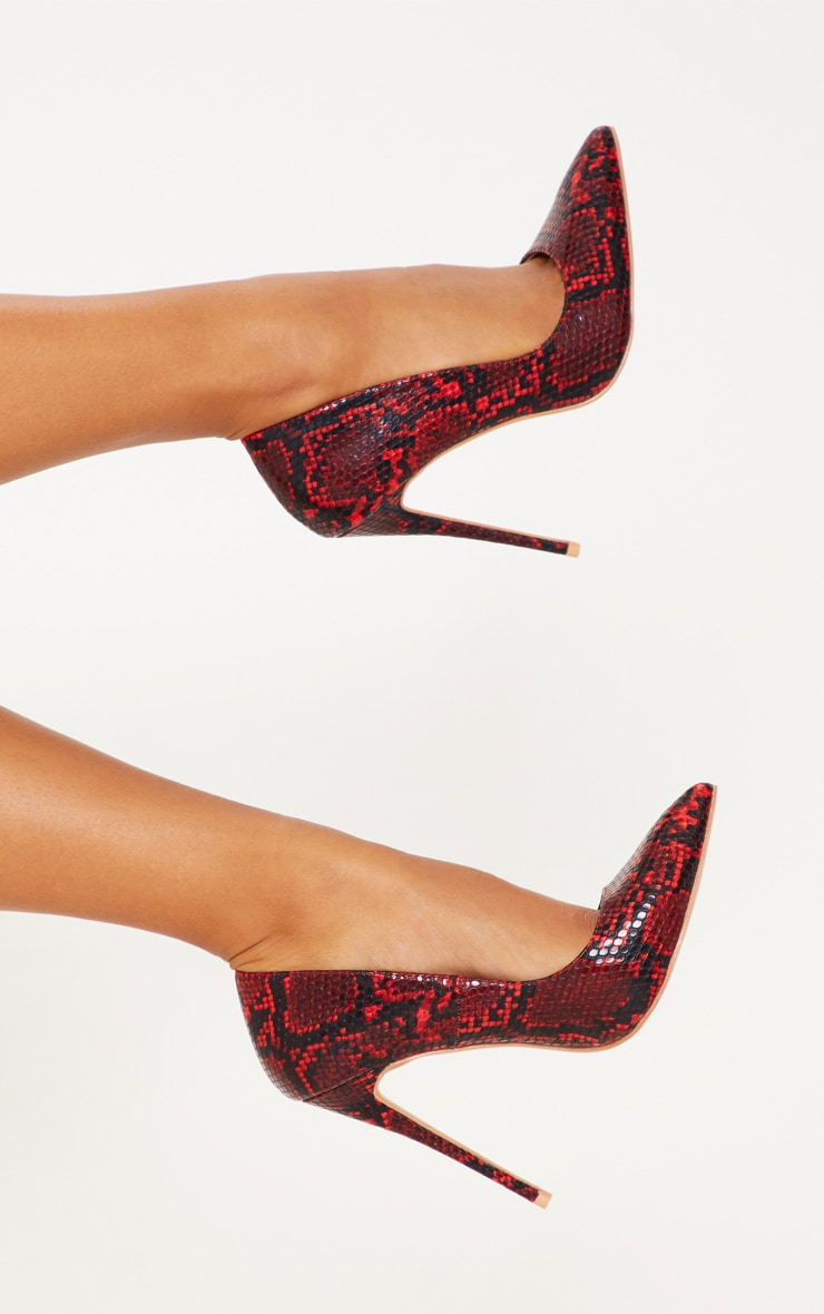 Red Snake High Court Shoes  1