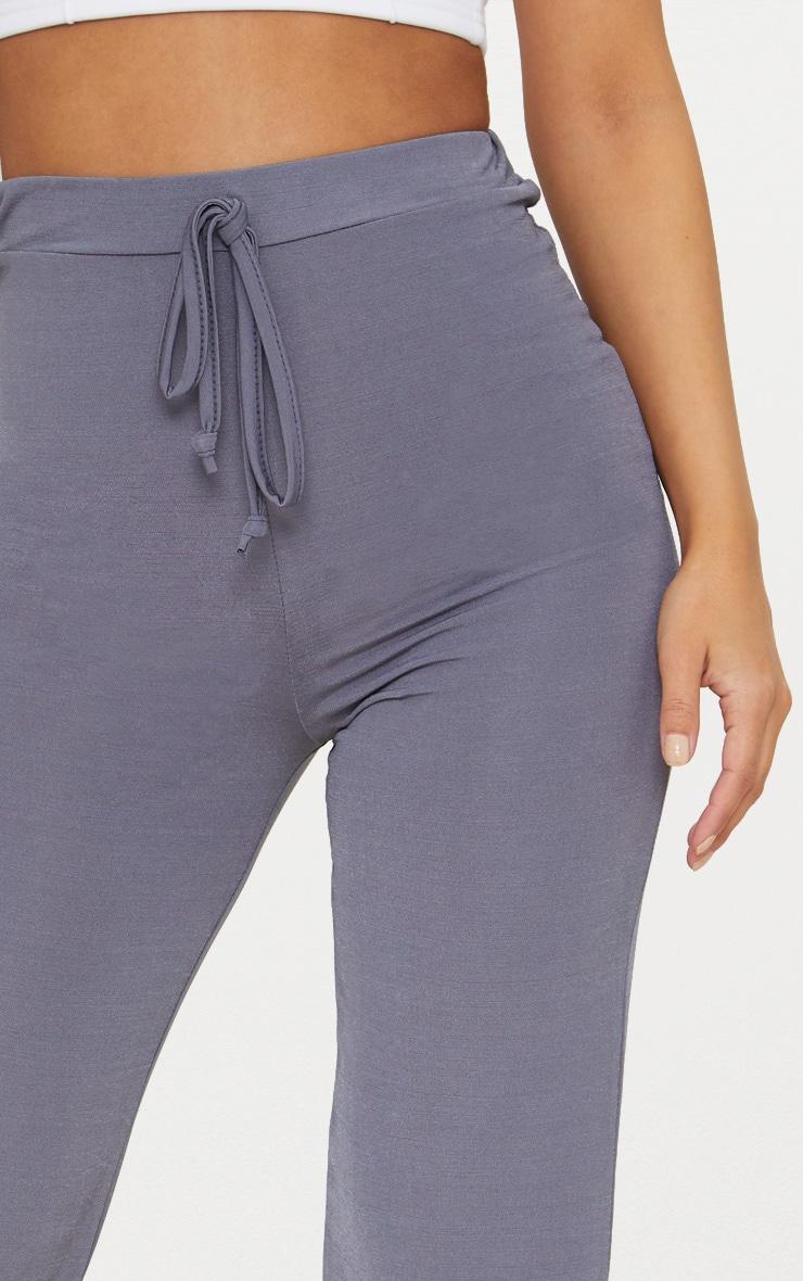 Petite Charcoal Soft Slinky Joggers 5