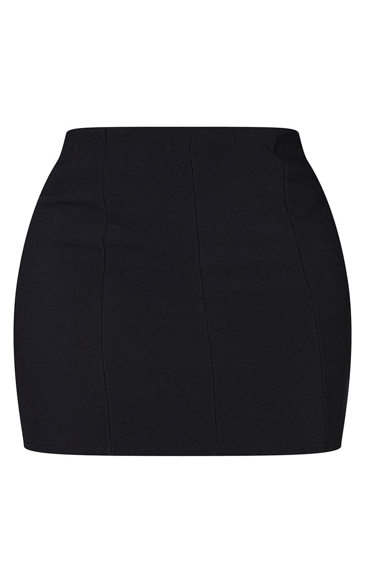 Black Mini Bandage Skirt 4