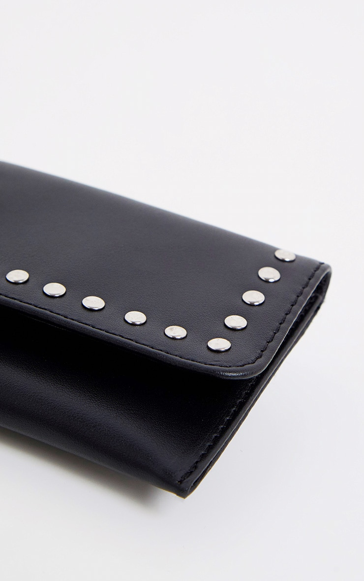 Black Studded Belted Double Bum Bag 4