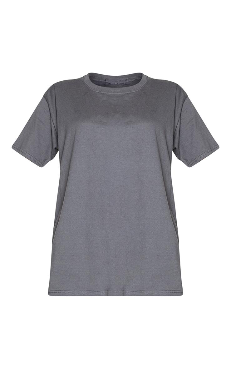 Charcoal Steal His Tee Slogan T Shirt 5