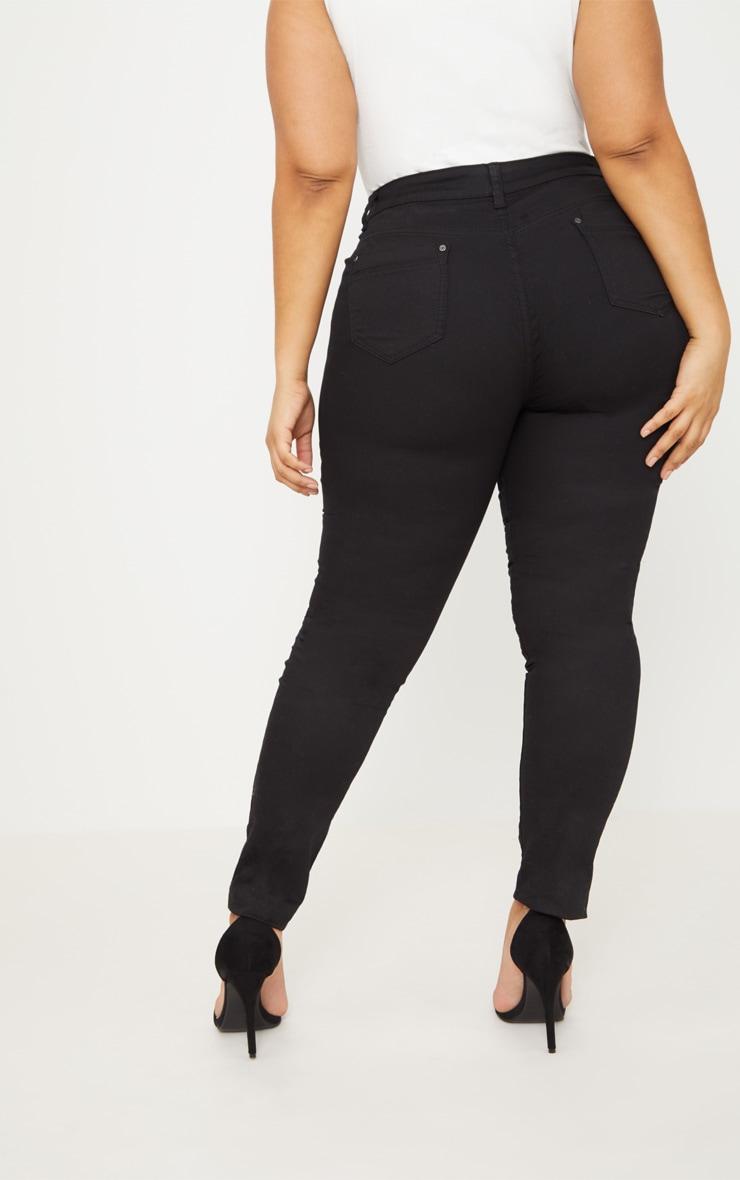 PLT Plus - Jean skinny noir 4
