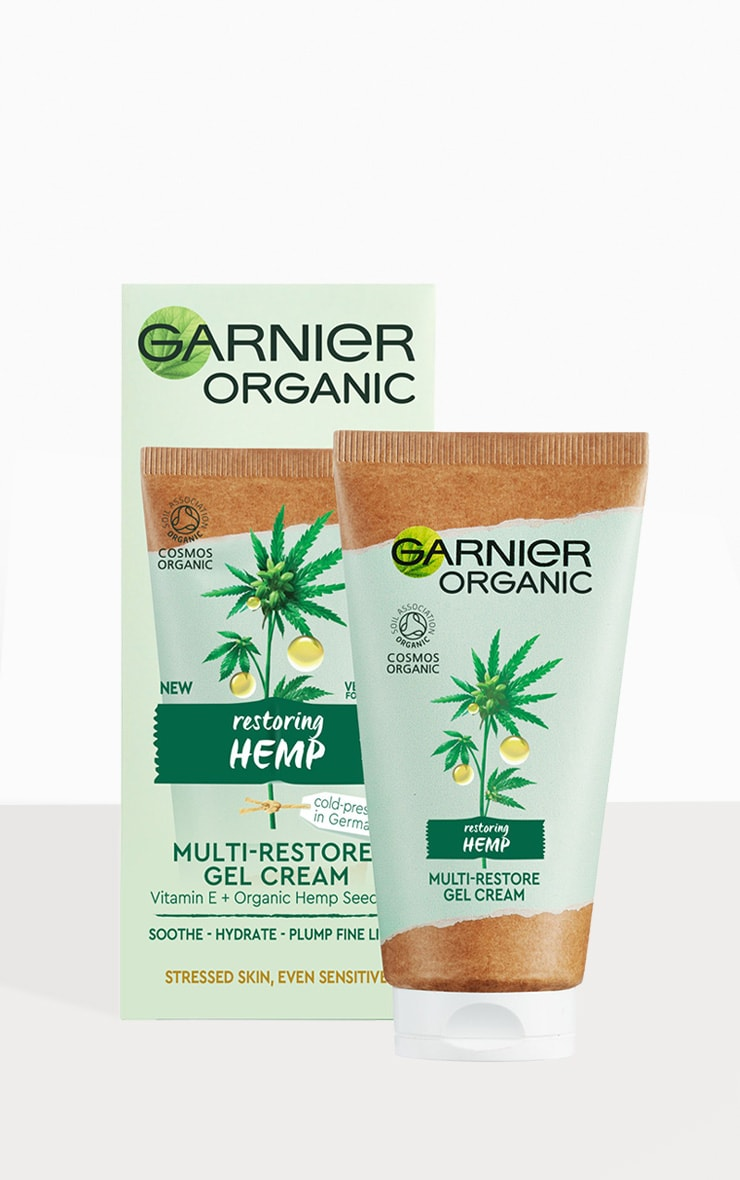 Garnier Organic Hemp Multi-Restore Gel Cream 50ml