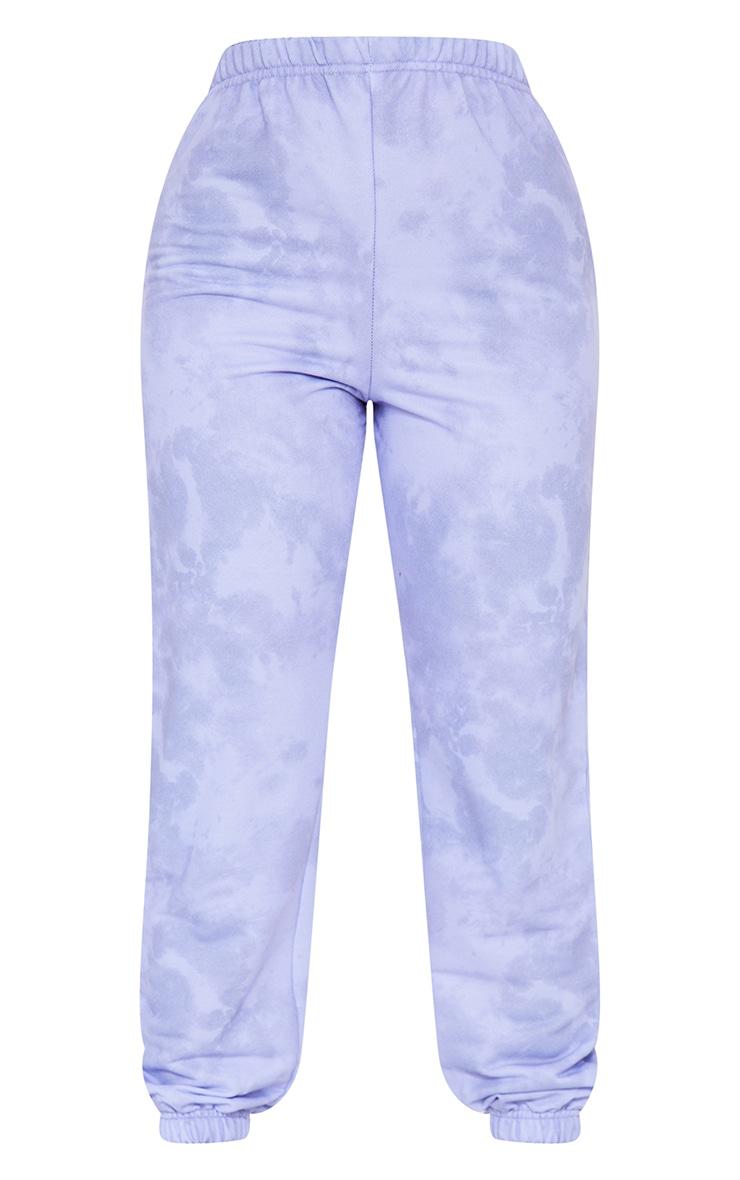Petite Lilac Basic Tie Dye Jogger 5