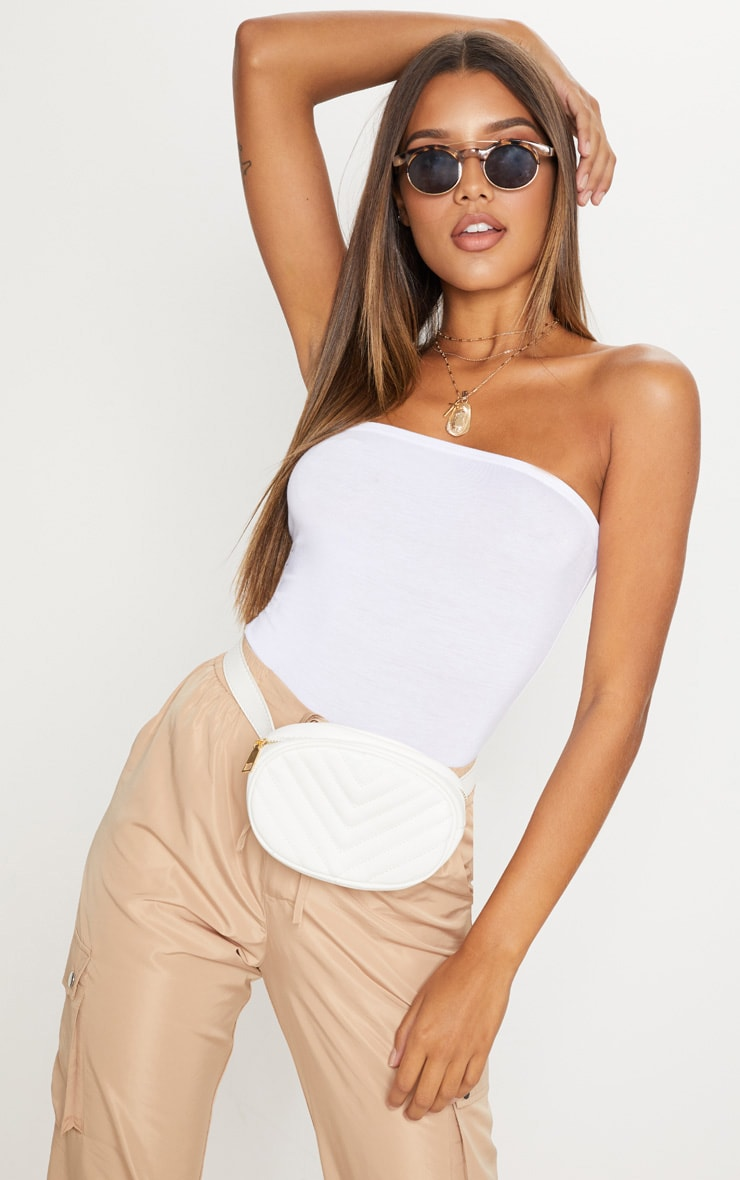 Basic body bandeau blanc 1