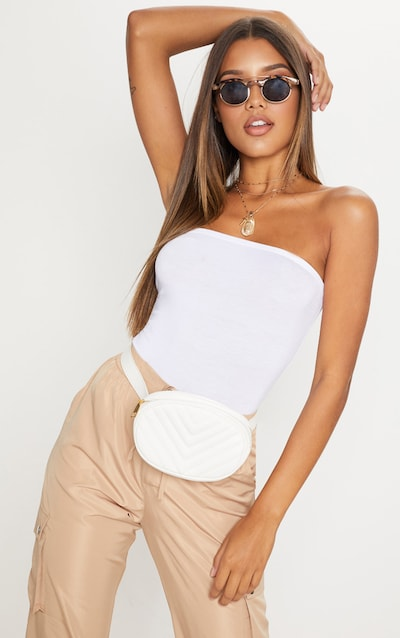 bb5c707499c4 Bandeau Tops | Women's Strapless Tops & Shirts | PrettyLittleThing USA
