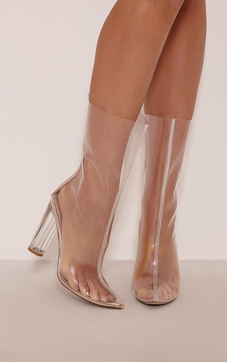 Zizi Clear Heeled Boots 1