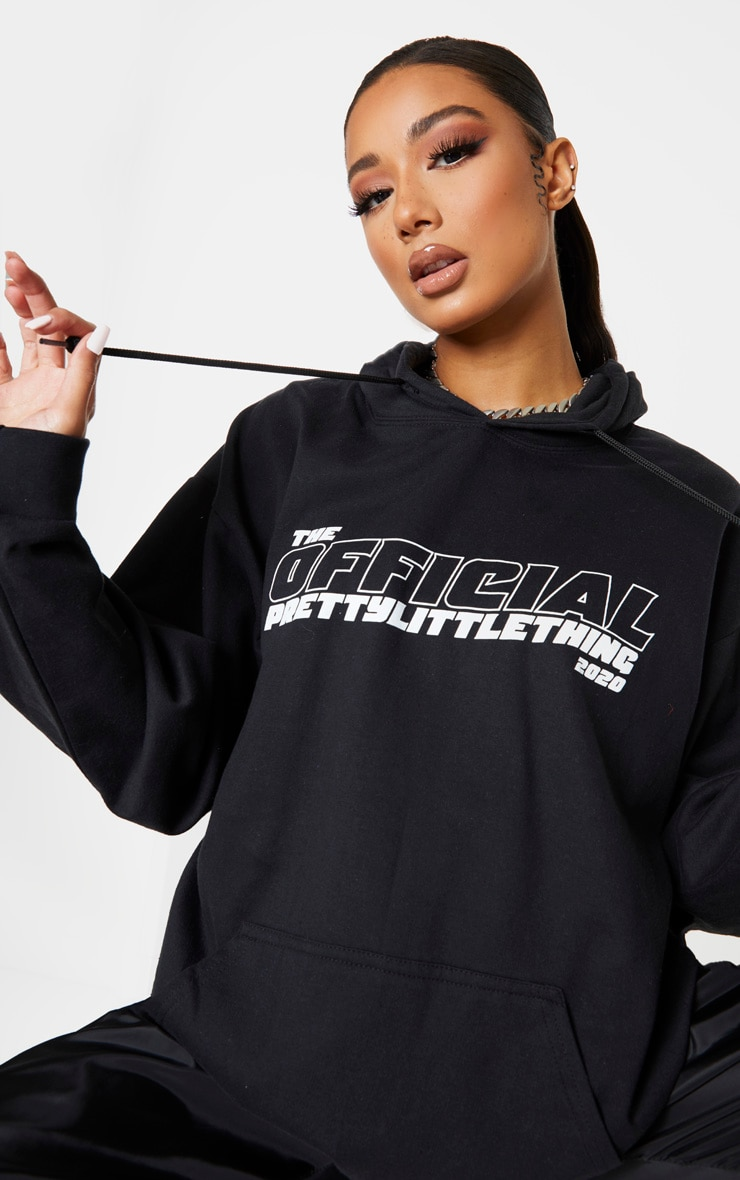 PRETTYLITTLETHING Black The Official 2020 Hoodie 5