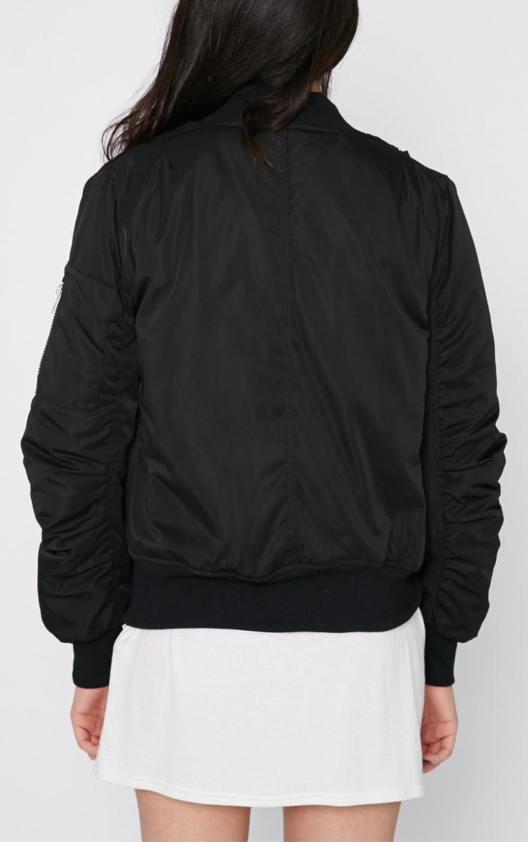 Maska Black Bomber Jacket  2