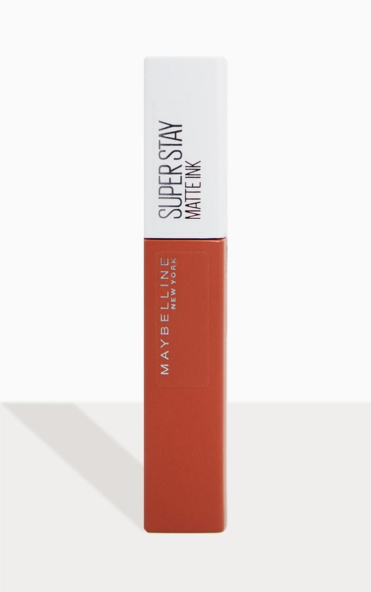 Maybelline Superstay Matte Ink Lipstick 75 Fighter 2
