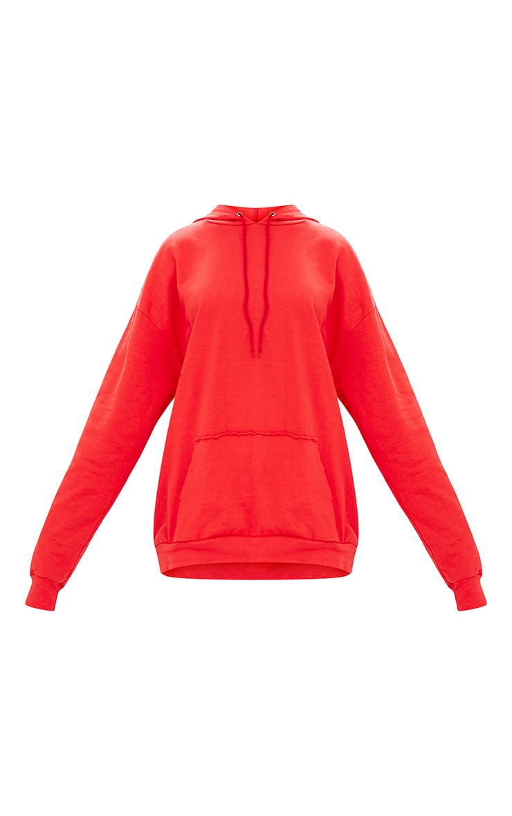 Red Oversized Hoodie 3