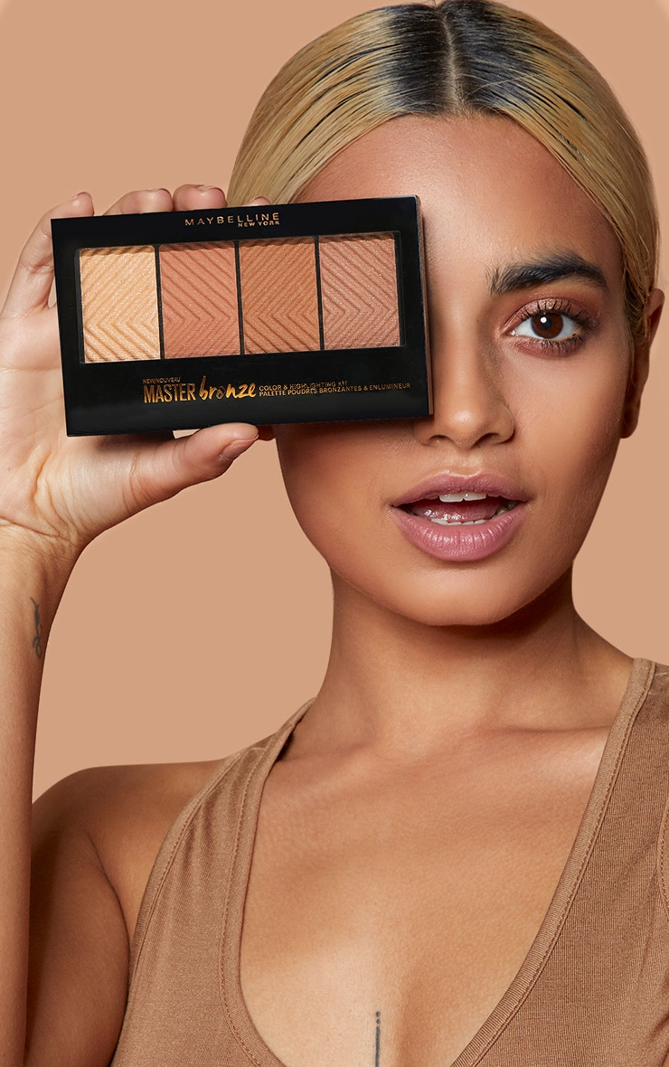 Maybelline Master Bronze Bronzer + Highlight Palette 3