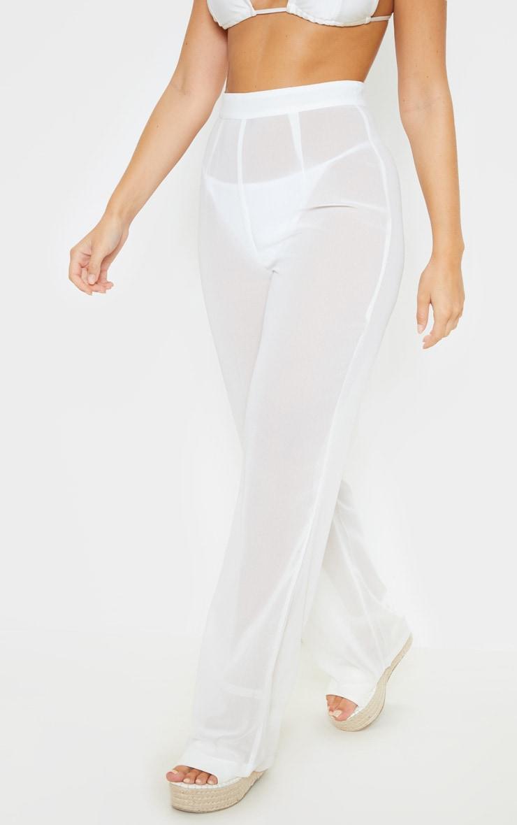 White Beach Trouser 2