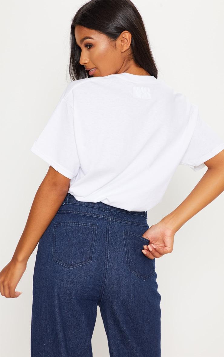 White Je Taime Slogan T Shirt 2