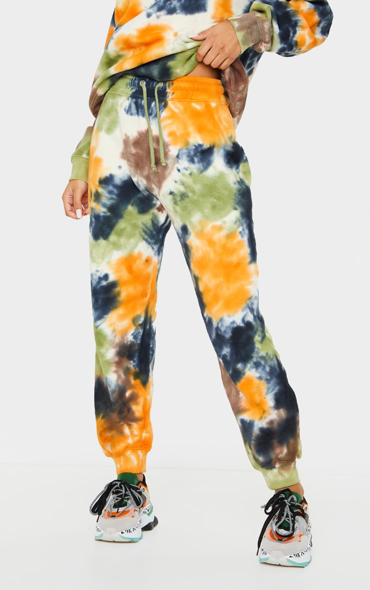 Multi Tie Dye Joggers 2