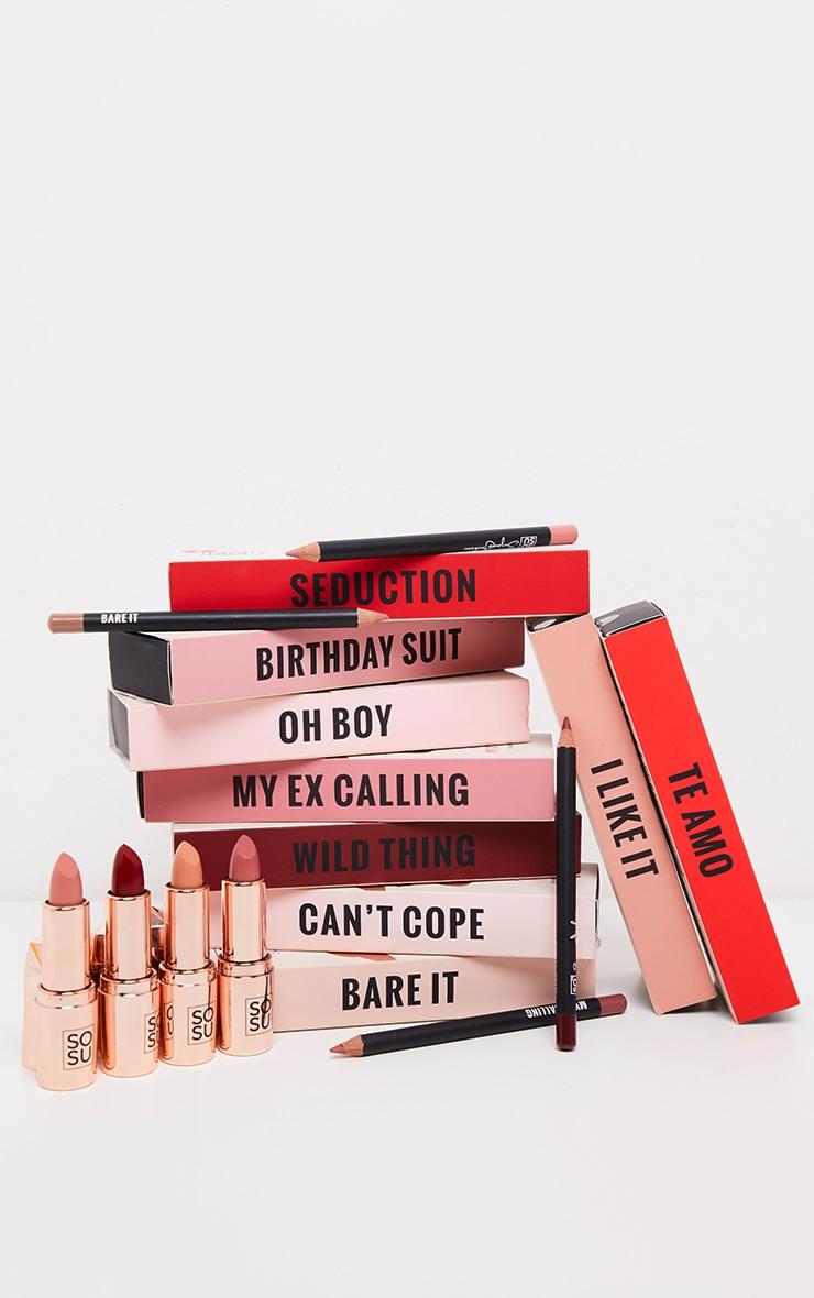 SOSUBYSJ So Kiss Me Bare It Lip Kit 4