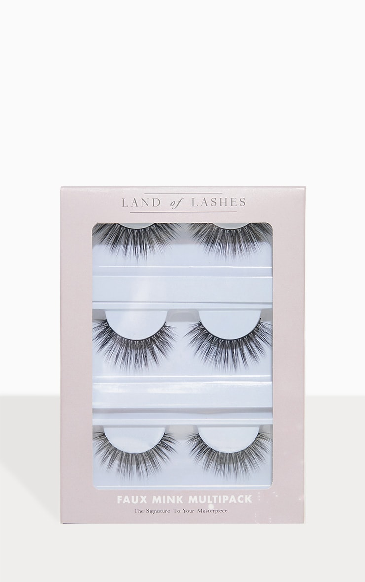 Multipack de faux cils Icon de Land of Lashes 1