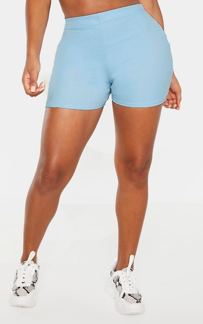 Shape Dusty Blue High Waist Hot Pants