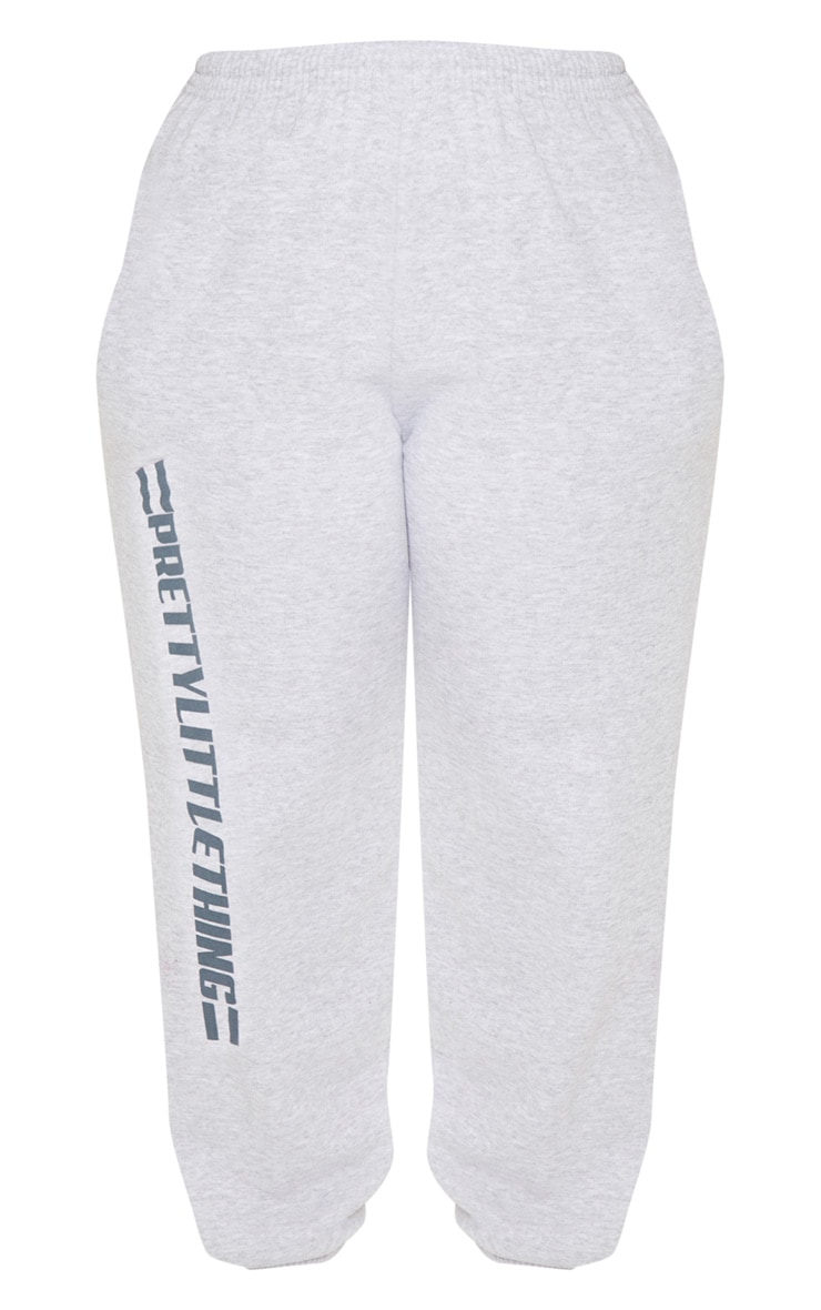 PRETTYLITTLETHING Plus Grey Casual joggers 3