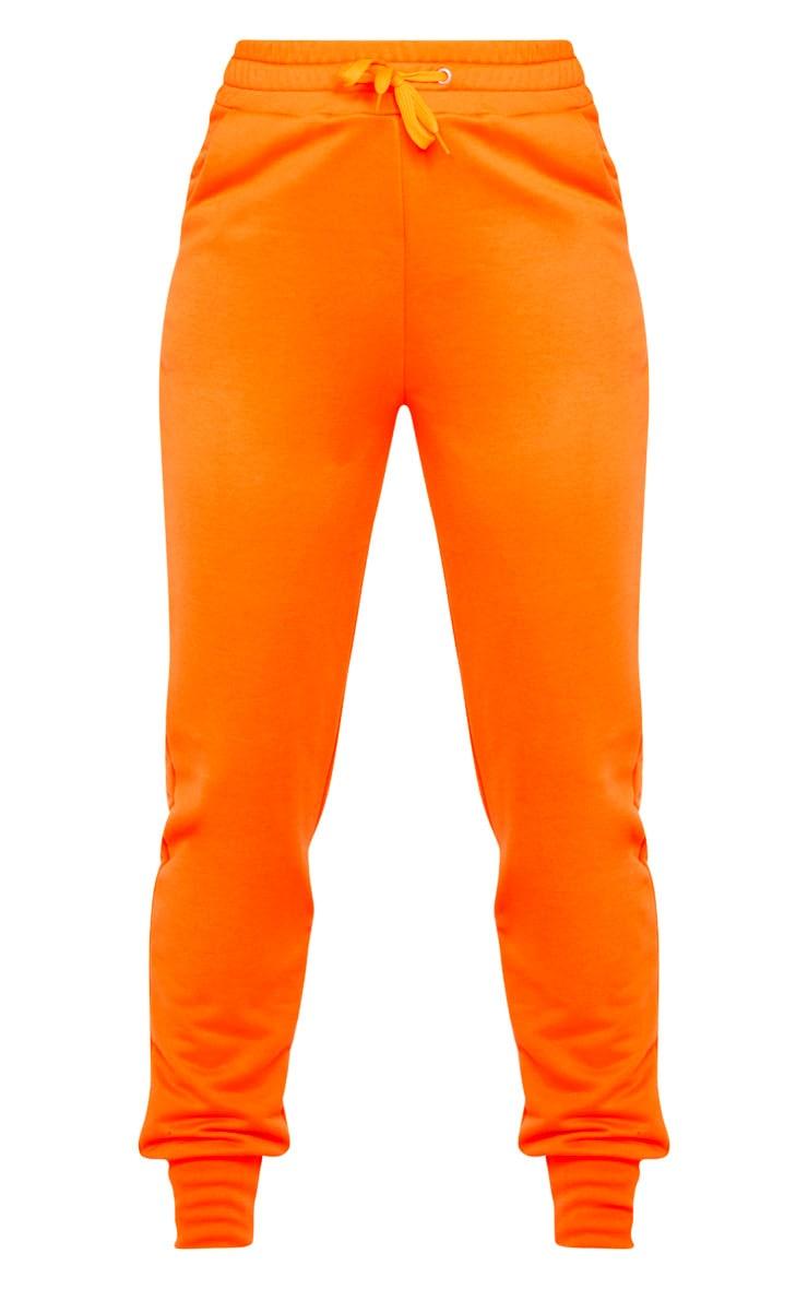 Orange Basic Gym Sweat Jogger 3