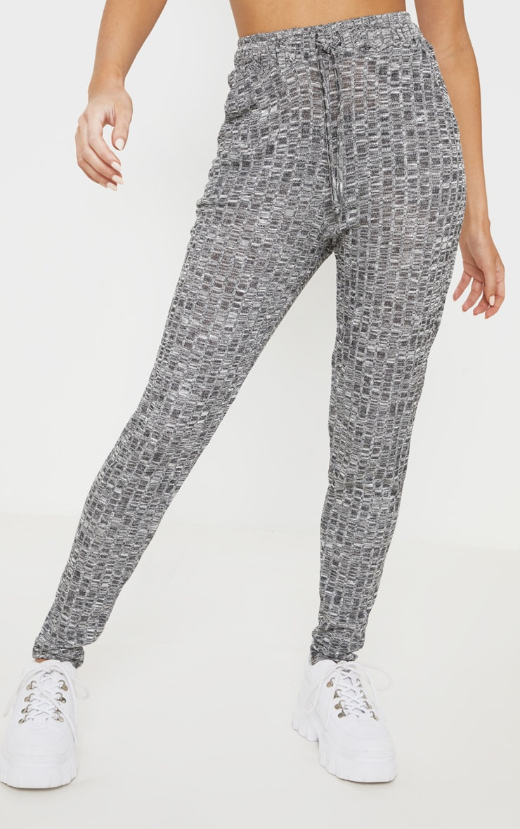 Grey Marl Mix & Match Lounge Trousers 2