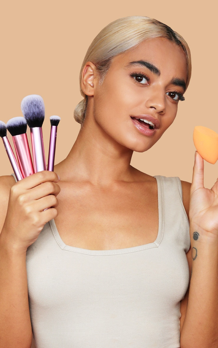 Real Techniques Everyday Essentials Brush Set 3