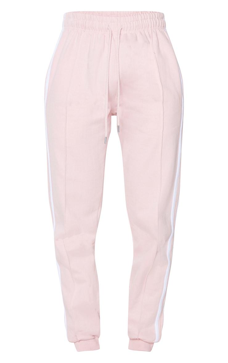 Pink Double Side Stripe Joggers 5
