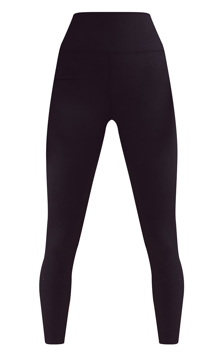 Black Sculpt Luxe High Waist Gym Legging 5