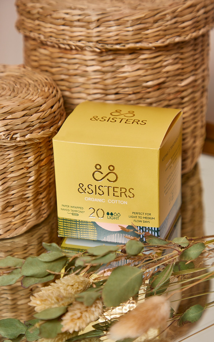 &Sisters Naked Tampons Light 20 pack 3