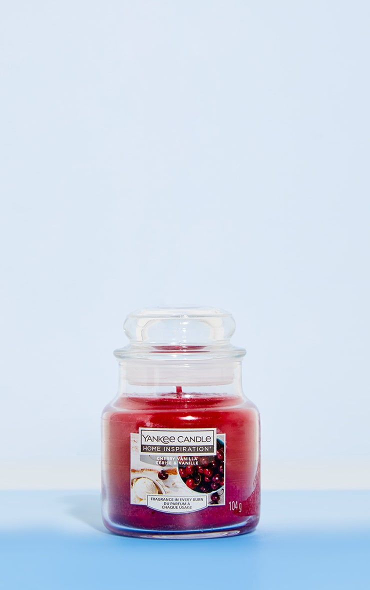 Yankee Candle Home Inspiration Small Jar Cherry Vanilla 1