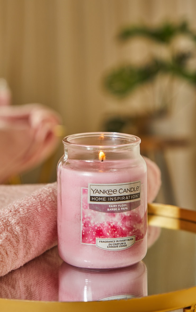 Yankee Candle Home Inspiration Large Jar Fairy Floss image 1