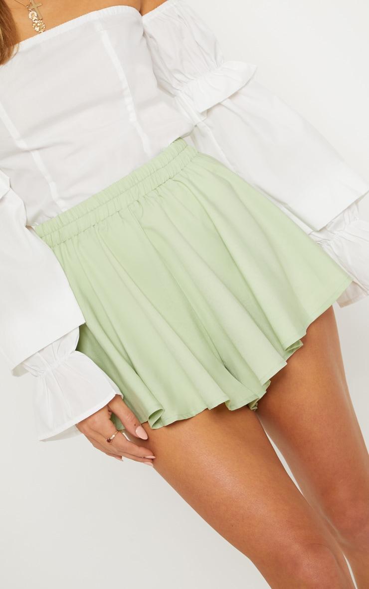 Mint Floaty Shorts 6
