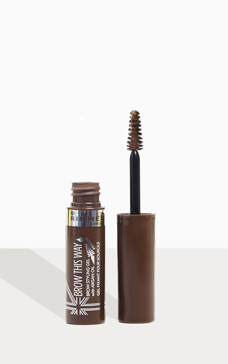 Rimmel Brow This Way Gel With Argan Oil 002 Medium Brown 1