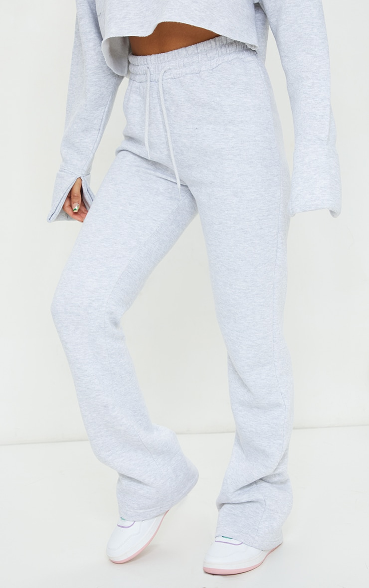Grey Flared Leg Joggers 2