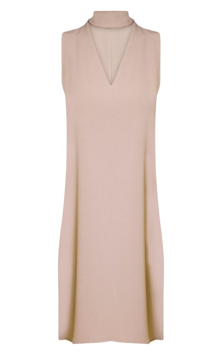 Cinder Stone Choker Detail Loose Fit Dress 3