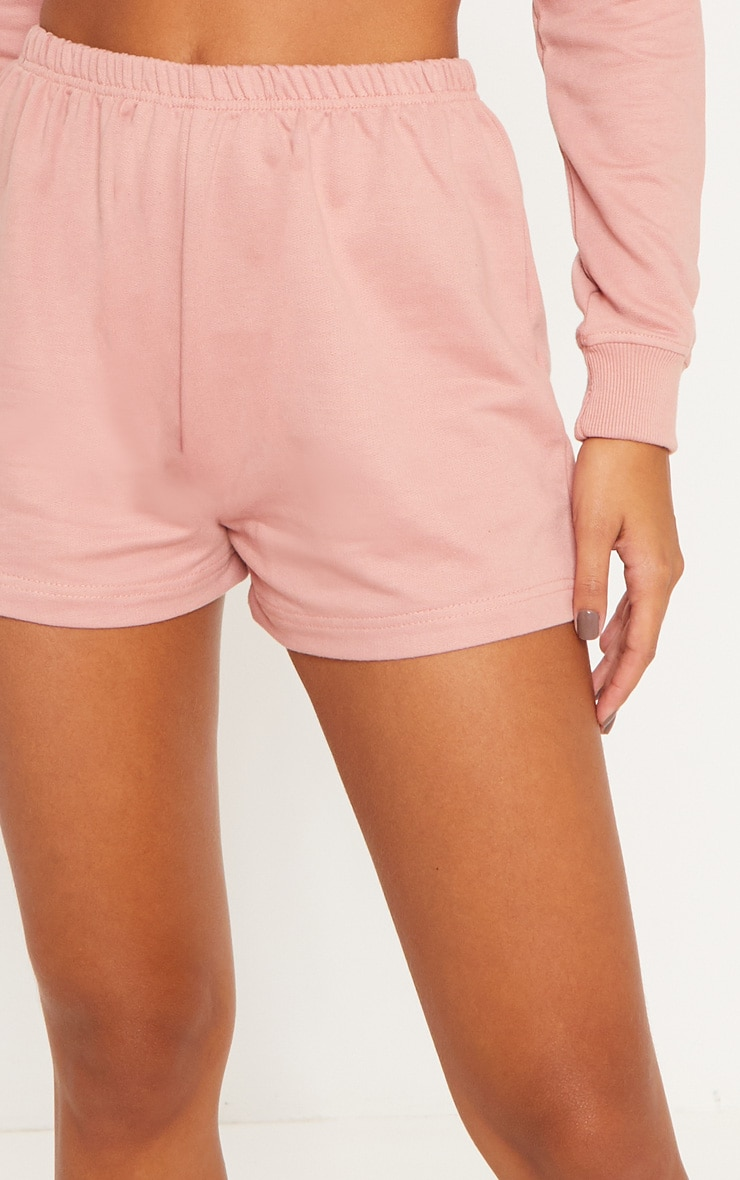Rose Cropped Sweat PJ Set 6