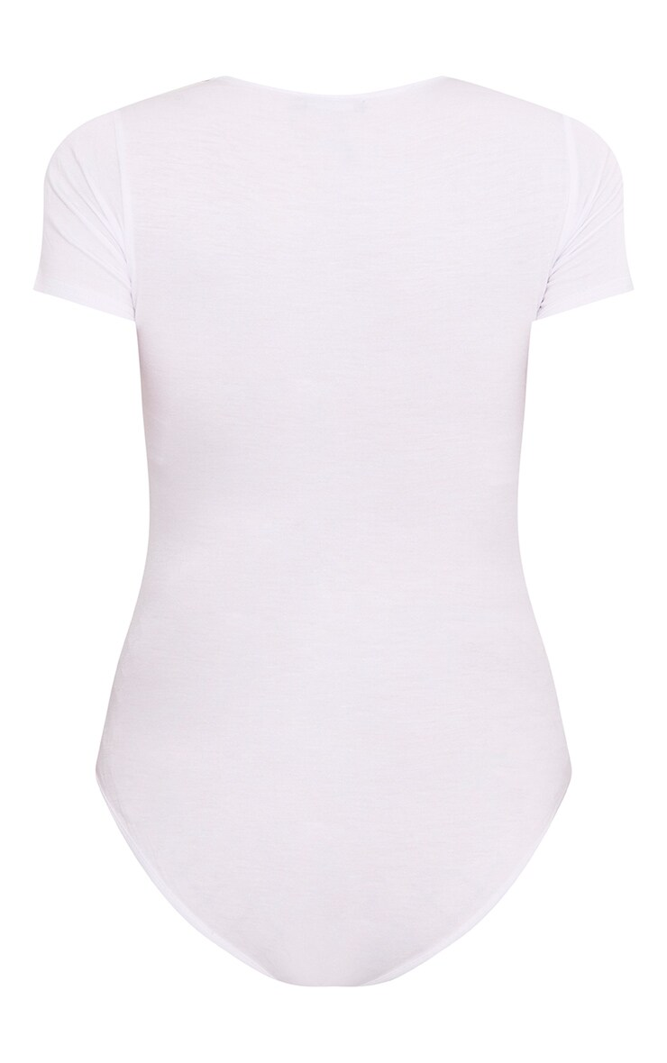 Basic body blanc à col arrondi 4