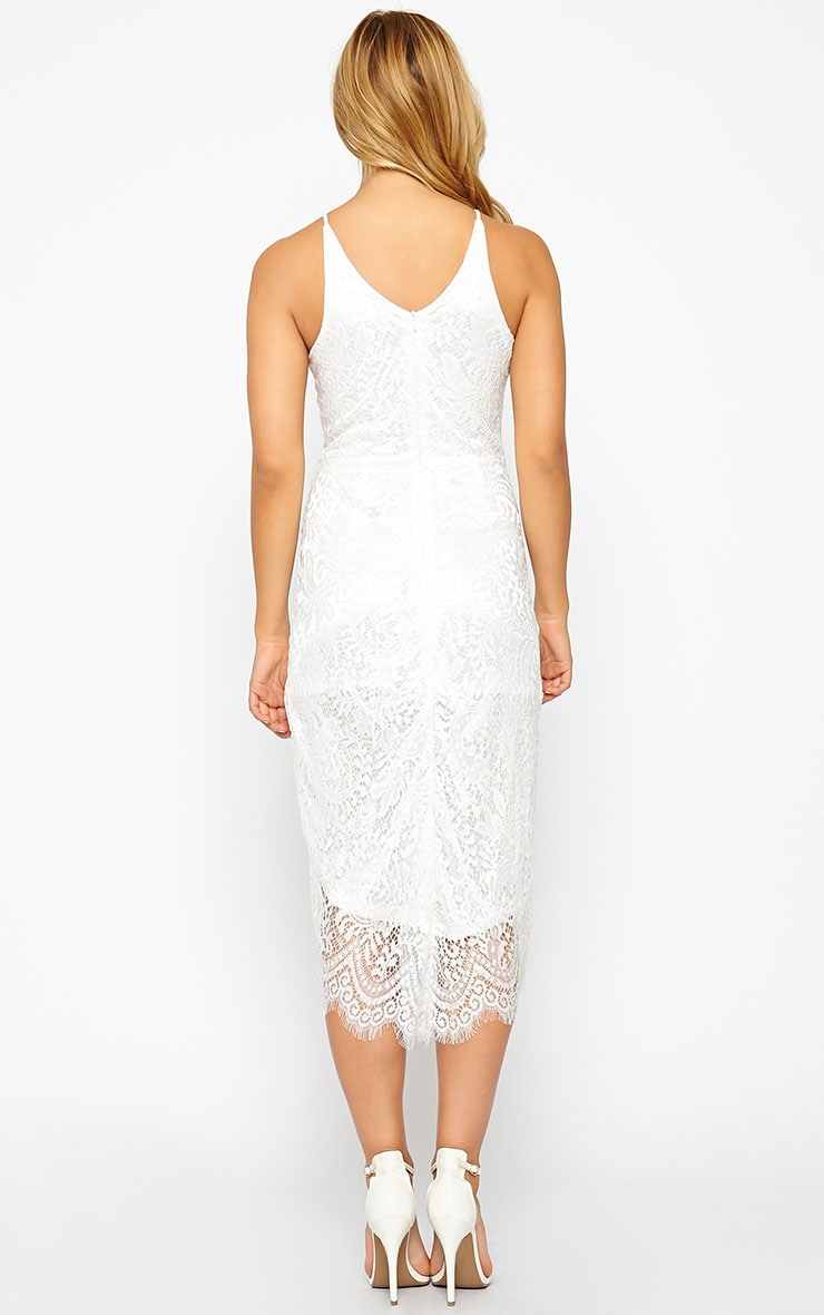 Trinny White Lace Dress 3
