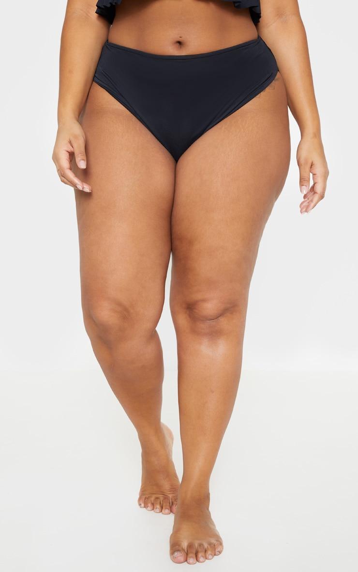 Plus Black Bikini Bottom 2