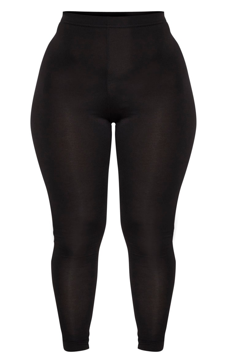 Shape - Legging stretch en jersey noir 3