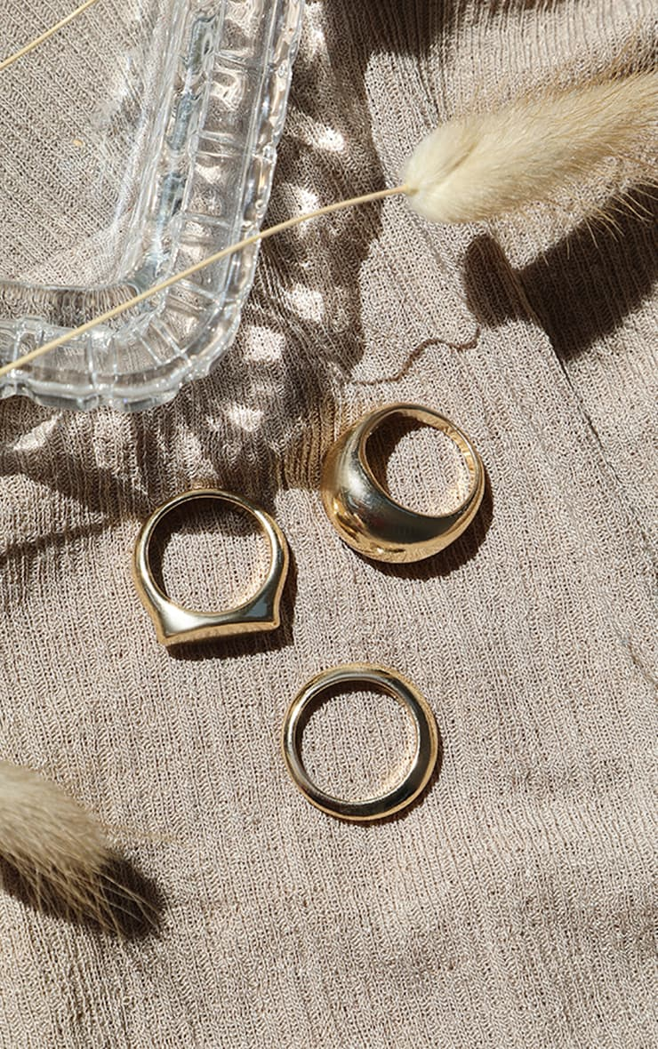 Gold Multi Ring Pack 1